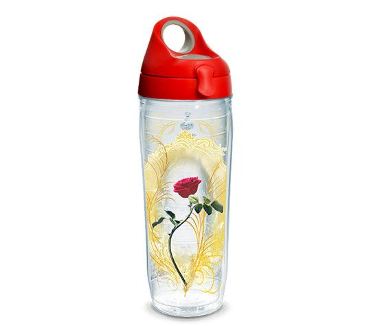 "Beauty and the Beast ""Enchanted Rose"" 24 oz. Tervis Water Bottle"