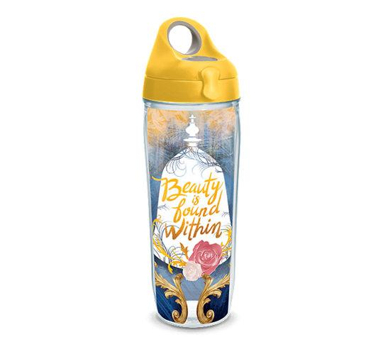 "Beauty and the Beast ""Beauty is Found Within"" 24 oz. Tervis Water Bottle"