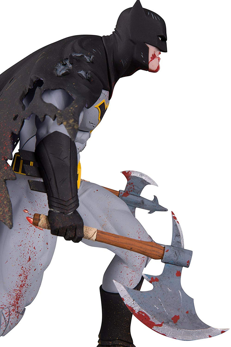 DC Designer Series: Metal Batman by Greg Capullo Resin Statue- Kryptonite Character Store