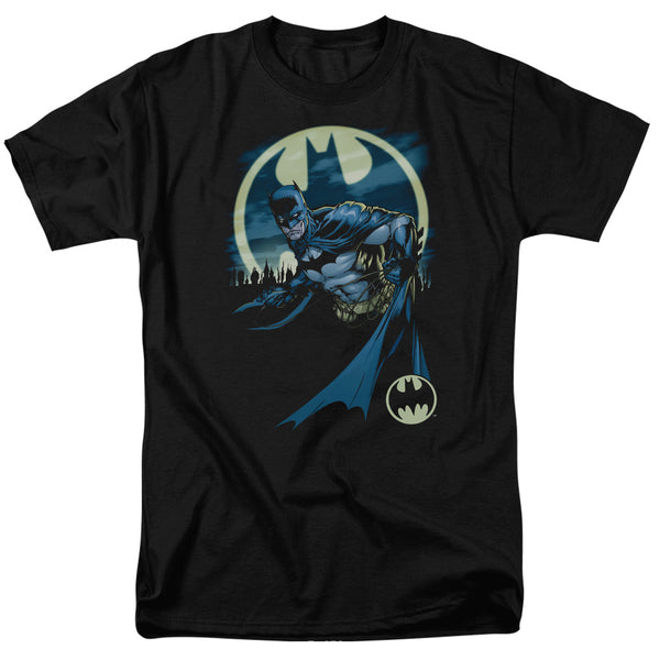 Batman Heed The Call Adult Fitted T-shirt Black