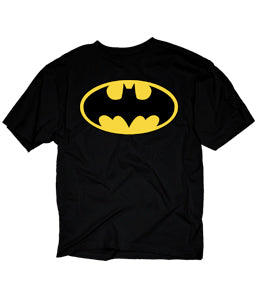Batman Logo Adult Fitted T-shirt