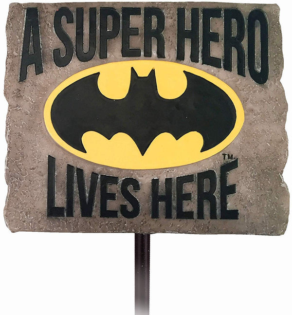 DC Comics - Batman Quote Garden Stake Sign - Kryptonite Character Store