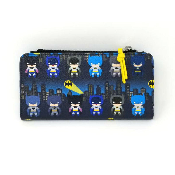 Loungefly - DC Comics - Batman Chibi All Over Print Wallet - Kryptonite Character Store
