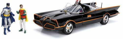 Batman Batmobile 1966 Black 1/18 Jada Toys New
