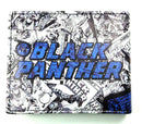 Marvel Black Panther Comics Bi-Fold Wallet - Kryptonite Character Store