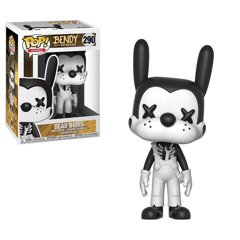 POP! Games: Bendy and The Ink Machine- Dead Boris - Kryptonite Character Store