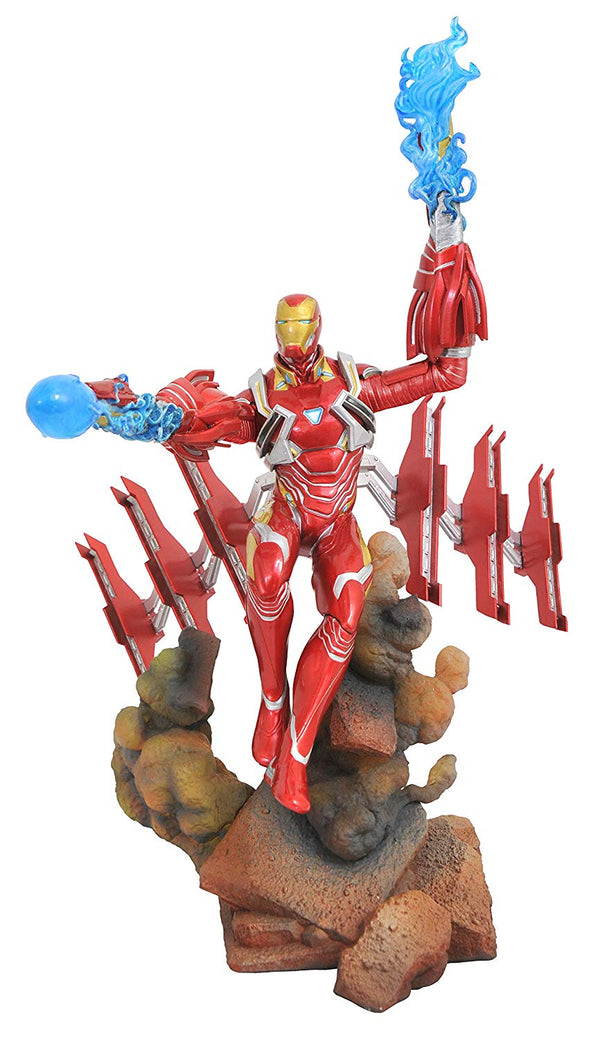 Marvel - Avengers: Infinity War - Iron Man Mk50 PVC Figure - Kryptonite Character Store