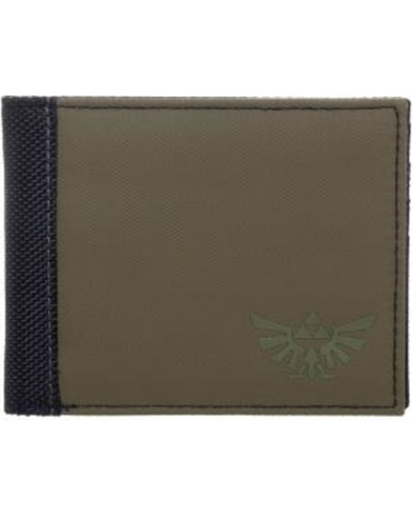 Zelda Green Bi-Fold Men's Wallet