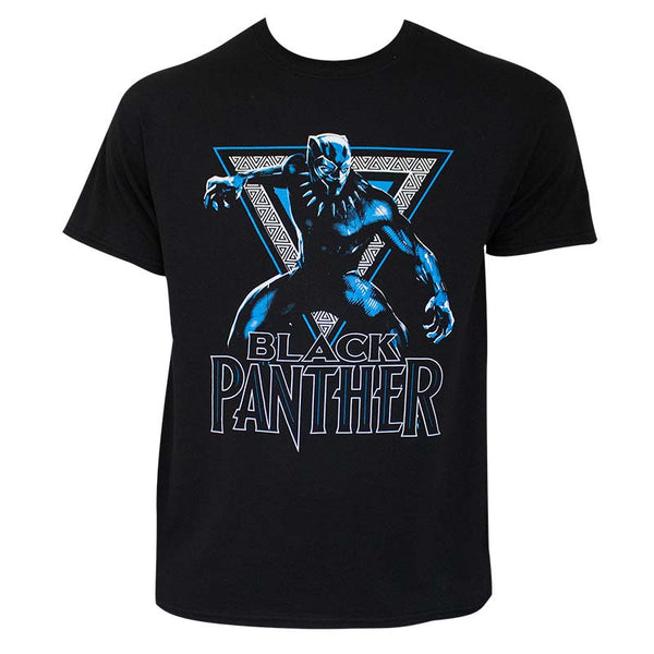 Black Panther Triangle adult tee Shirt