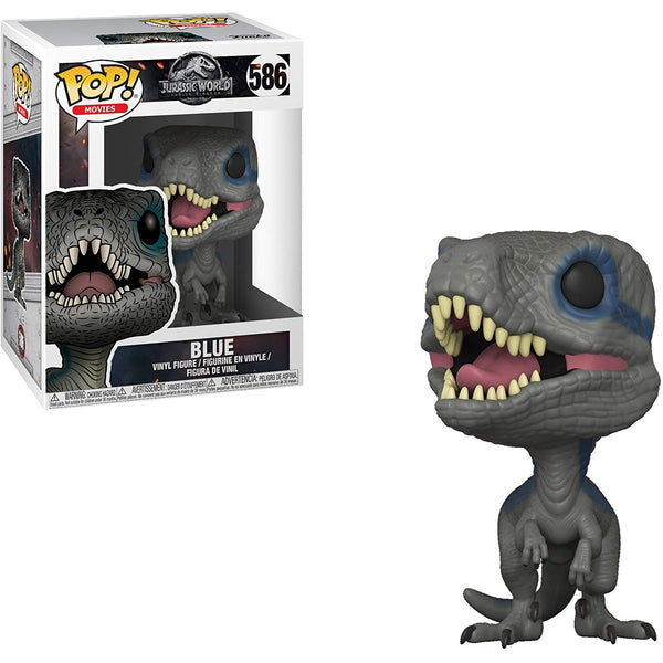 Funko Pop! Jurassic World: Fallen Kingdom Blue Vinyl Figure