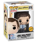 TV: The Office - Jim Halpert Chase Variant - Book Face Halloween Costume - Kryptonite Character Store
