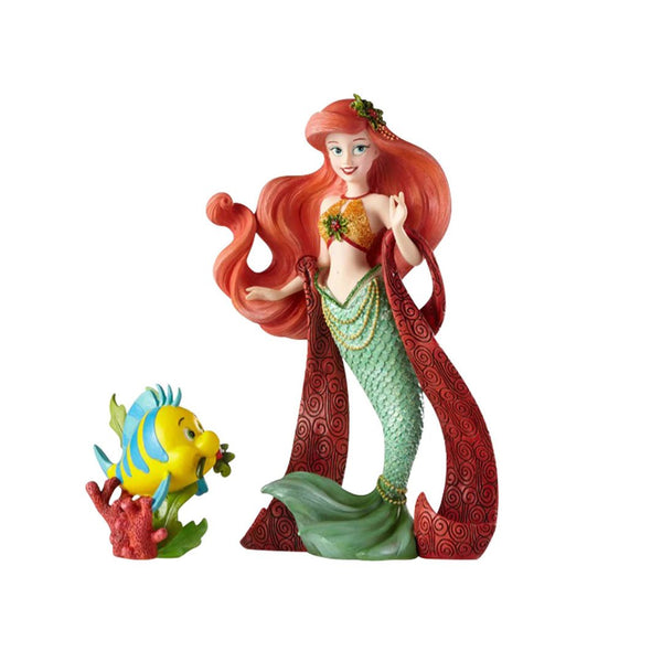 Disney Showcase the Little Mermaid Holiday Ariel and Flounder