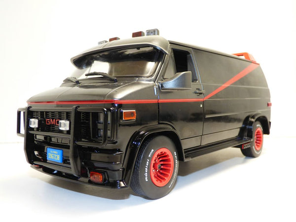 The A-Team 1983 GMC Vandura 1:18 Scale Model Car - Kryptonite Character Store