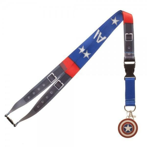 Shield of the Captain America  Lanyard -Kryptonite Character Store