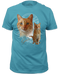 Captain Marvel Cat Goose Adult T-shirt
