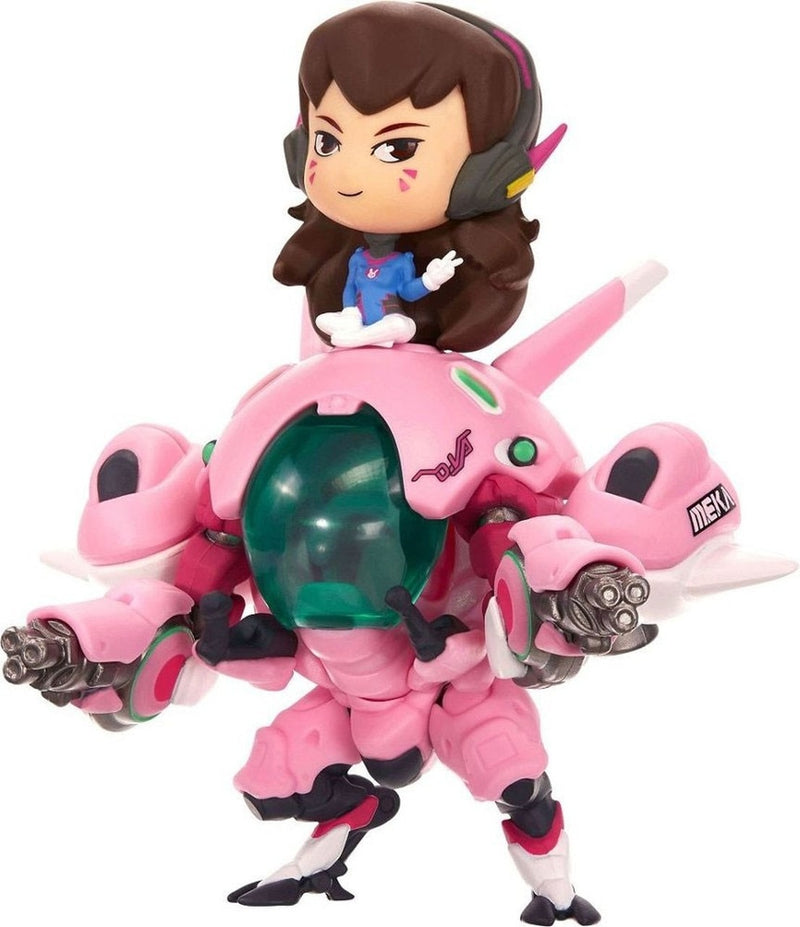 Cute But Deadly - Overwatch D.Va with Meka PVC Figure