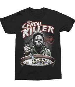 Michael Meyers - Cereal Killer - Novelty Horror T-shirt