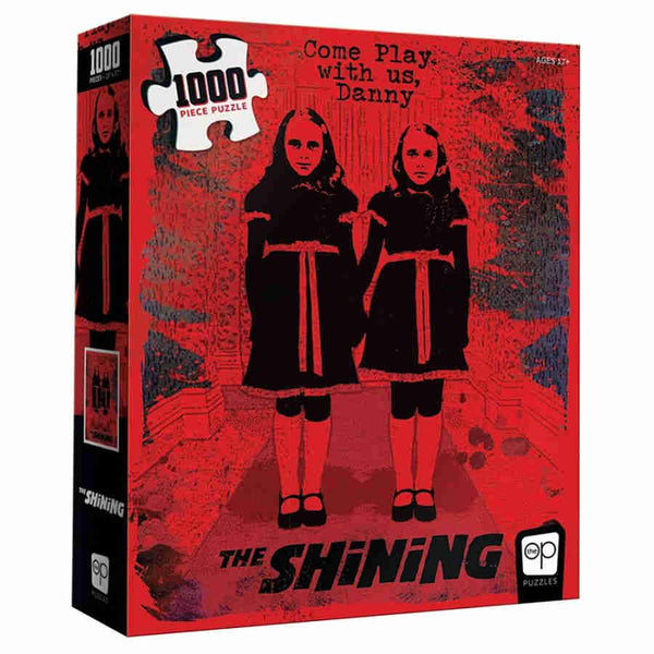 "The Shining ""Come Play With Us"" 1000 Piece Puzzle - Kryptonite Character Store"