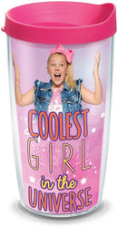 Tervis - Nickelodeon - JoJo Siwa - Coolest Girl in the Universe Insulated Tumbler with Wrap, 16 oz - Kryptonite Character Store