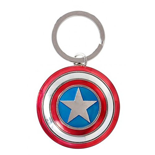Marvel Avengers: Age of Ultron Captain America Shield Keyring