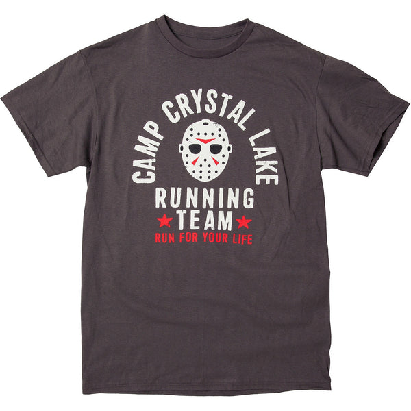 Friday 13th Crystal Lake Running Team Jason T-shirt - Kryptonite Character Store