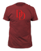 Marvel Daredevil Log Adult Fitted T-shirt - Kryptonite Character Store