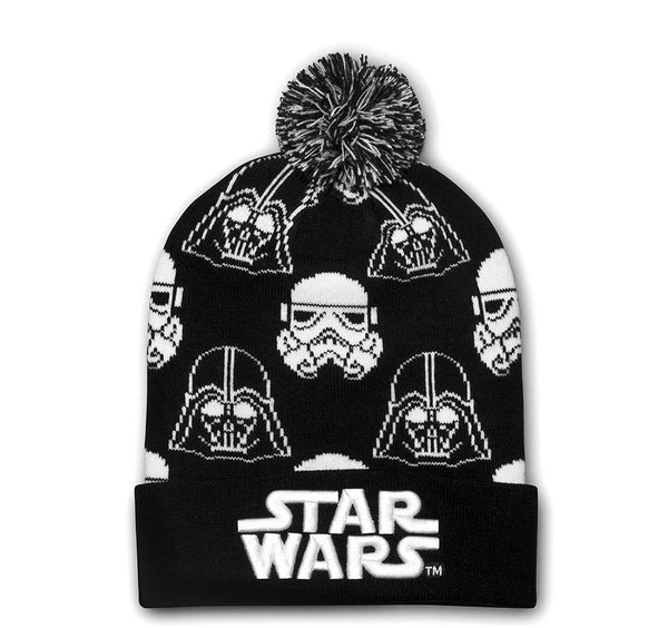 Darth Vader Stormtrooper Black and White Beanie