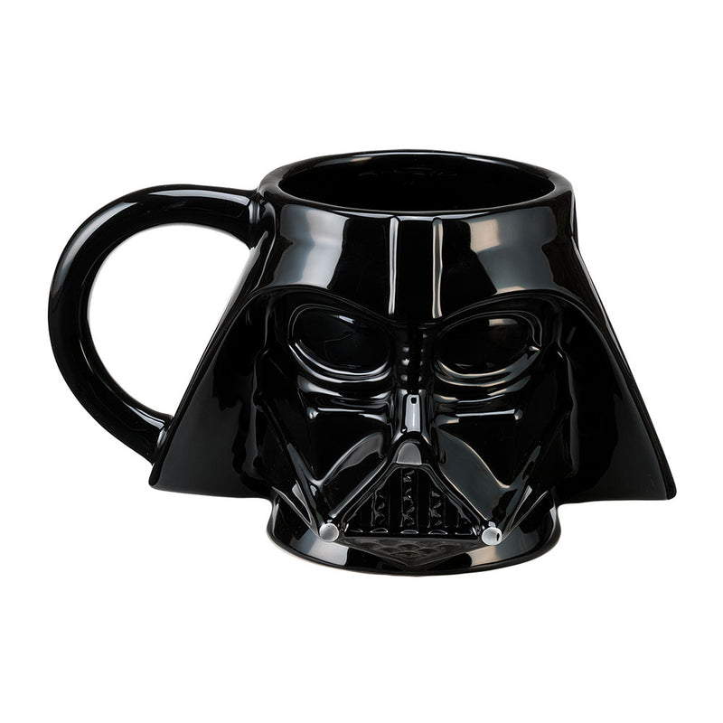 Star Wars - Darth Vader Sculpted Ceramic Mug, Black - Kryptonite Character Store