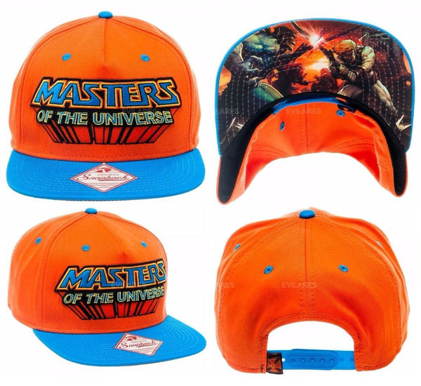 Masters of The Universe Original Snapback Bioworld Merch Flat Bill