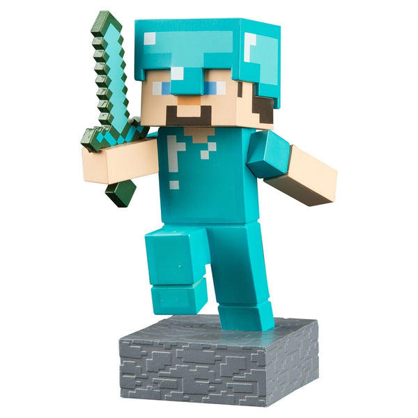 Minecraft Adventure - Vinyl Figure (Diamond Steve) - Kryptonite Character Store