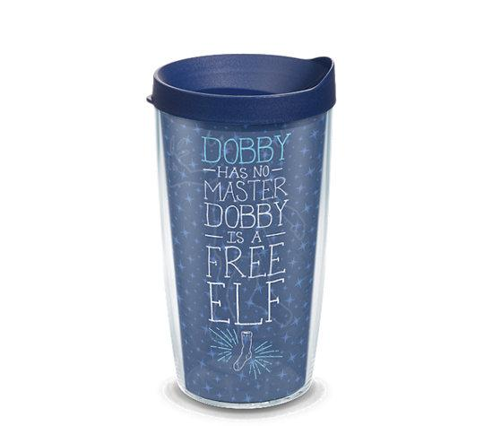 "Harry Potter ""Dobby is a Free Elf"" 16 oz. Tervis Tumbler- Kryptonite Character Store"