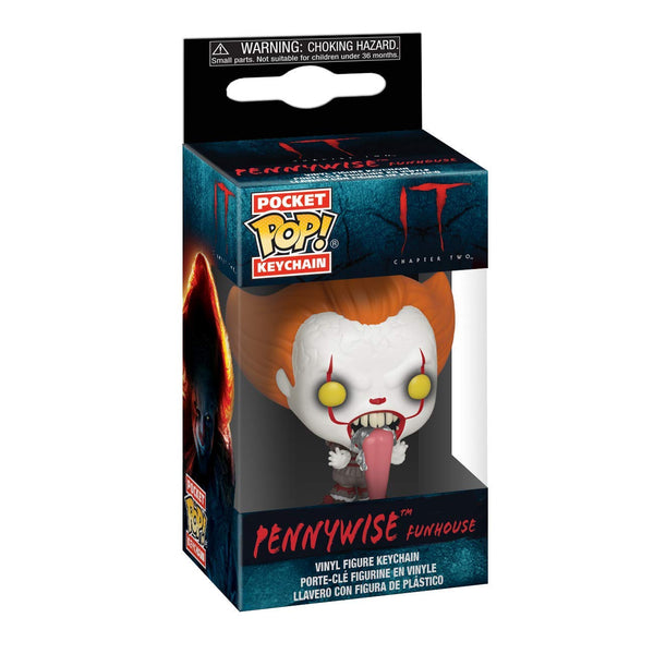 It 2 - Pennywise with Dog Tongue  Keychain - Kryptonite Character Store