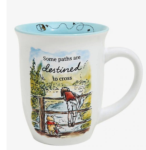 Disney Winnie the Pooh Some Paths are Destined to Cross 16oz Mug