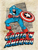 "Marvel Captain America Cover Splash 12.5"" x 16"""
