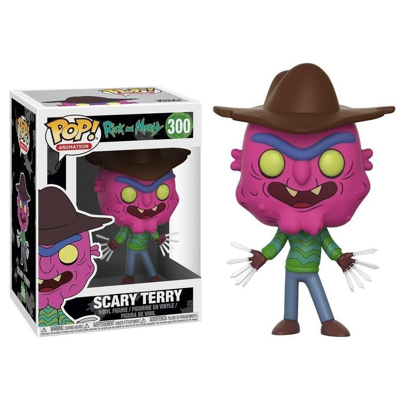 Funko Pop Animation: Rick and Morty-Scary Terry Collectible Figure