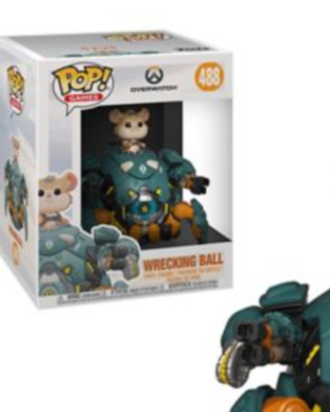 Pop! Games Overwatch Wrecking Ball #488