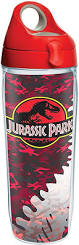 Jurassic Park Red Camo Water Bottle