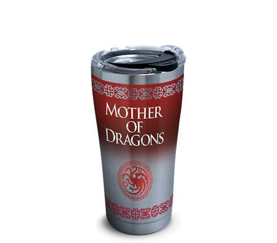 "Game of Thrones ""Mother of Dragons"" 20 oz. Stainless Steel Tervis Tumbler- Kryptonite Character Store"