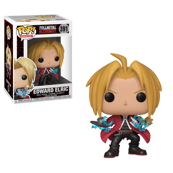 Funko POP! Animation: Fullmetal Alchemist S1 - Ed - Edward Elric - Kryptonite Character Store