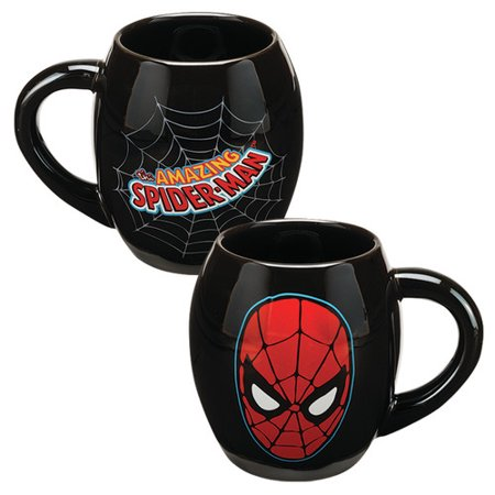 Marvel Spider-man 18 oz. Oval Ceramic Mug - Kryptonite Character Store