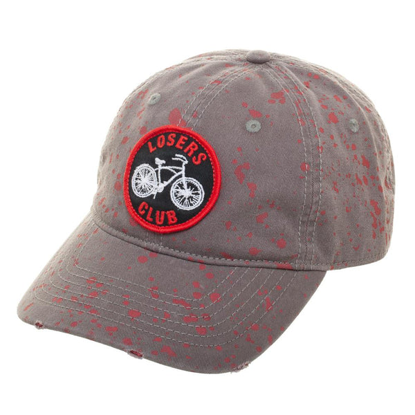 IT Loser's Club Blood Splatter Adjustable Hat - Kryptonite Character Store