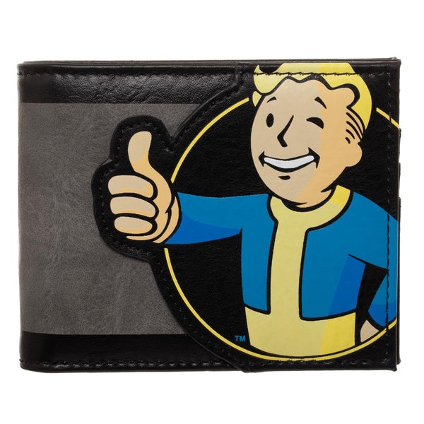 Fallout - Vault Boy Men's Bi-Fold Wallet - Kryptonite Character Store