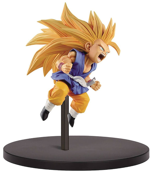 Dragon Ball GT FES!! Super Saiyan 3 Son Goku 3.9-Inch Collectible PVC Figure