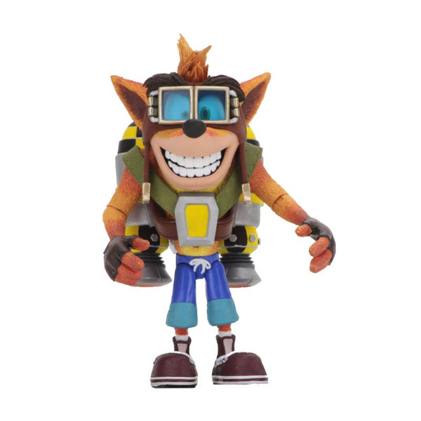 "Crash Bandicoot 7"" Jetpack Crash Action Figure"