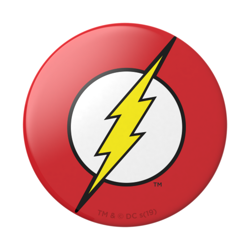 Pop Socket - DC Comics - Flash Icon in Glossy Print - Kryptonite Character Store