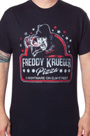 Freddy Krueger Pizza T-shirt - Kryptonite Character Store