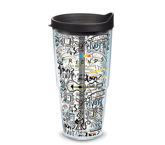 Friends Pattern 24 oz. Tervis Tumbler- Kryptonite Character Store