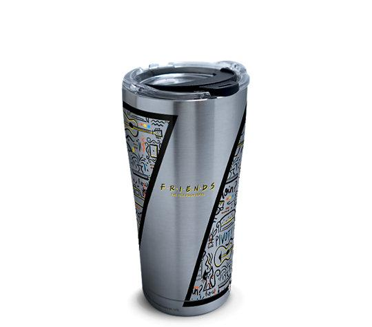 Friends Pattern 20 oz. Stainless Steel Tervis Tumbler- Kryptonite Character Store