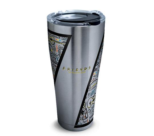 Friends Pattern 30 oz. Stainless Steel Tervis Tumbler- Kryptonite Character Store