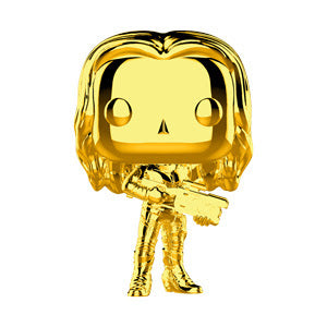 Funko Pop Marvel Studios 10 - Gamora (Gold Chrome) Collectible Figure